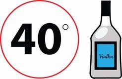 Signe et bouteille de route Photographie stock libre de droits