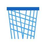 Signe et symbole de vecteur d'icône de basket-ball d'isolement sur le fond blanc, concept de logo de basket-ball illustration stock