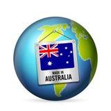 Signe fabriqué en Australie illustration de vecteur