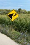 Signe fiscal de falaise Photographie stock libre de droits