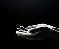 Signe humain de mains Photographie stock libre de droits