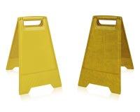 Signe humide de plancher Image libre de droits
