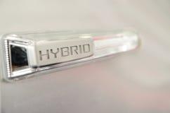 Signe hybride image stock