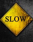 Signe lent Image libre de droits