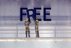 Signe libre Photographie stock libre de droits