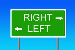 Signe logique Photo libre de droits