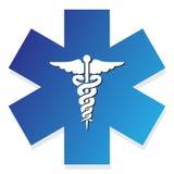 Signe médical Photo stock