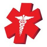Signe médical illustration stock