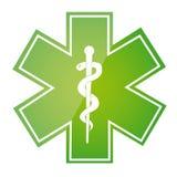 Signe médical Photographie stock