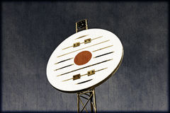 Signe nautique de navigation de vintage Images stock