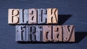 Signe noir de vendredi Photographie stock