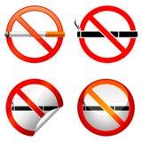 Signe non-fumeurs. Photos libres de droits