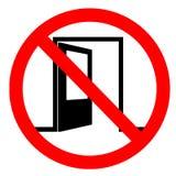 Signe non-fumeurs de lieux Image libre de droits