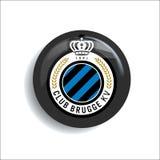 Signe officiel d'insigne de calibre de logo du football du football illustration libre de droits