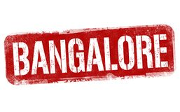 Signe ou timbre de Bangalore illustration de vecteur