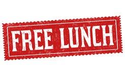 Signe ou timbre libre de déjeuner illustration stock