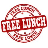 Signe ou timbre libre de déjeuner illustration libre de droits