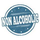 Signe ou timbre non alcoolique illustration de vecteur