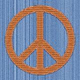 Signe pacifiste Photographie stock libre de droits