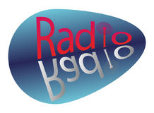 Signe par radio Photo stock