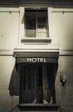 Signe parisien d'hôtel Images libres de droits