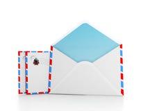 Signe pour votre boîte aux lettres Photo libre de droits