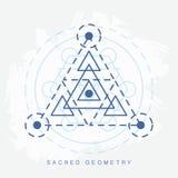 Signe sacré de la géométrie illustration libre de droits