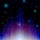 Signe sain brillant mystique avec des étincelles Images libres de droits