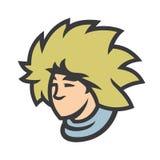 Signe velu de chapeau d'agneau illustration de vecteur