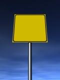 Signe vide Photos libres de droits