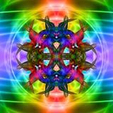 Signe vif abstrait Image stock