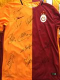 Signed Galatasaray Jersey Stock Image