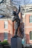 The Signer Statue in Philadelphia, USA stock photos