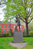 The Signer Statue in Signers Park of Philadelphia PA Royalty Free Stock Images