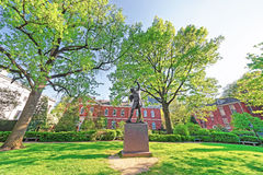 The Signer Statue in Signers Park in Philadelphia in PA Stock Photography