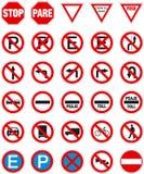 Signes 1 Image stock