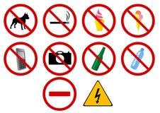 Signes Images libres de droits