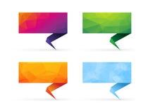 Signes colorés Photo stock