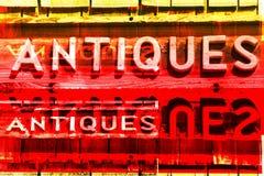 Signes d'ANTIQUITÉS illustration stock