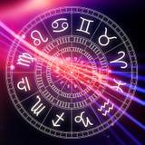 Signes d'astrologie de zodiaque pour l'horoscope Photographie stock