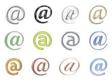 Signes d'email Image libre de droits