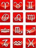 Signes d'horoscope Images libres de droits
