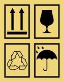 Signes de boîte Illustration Libre de Droits