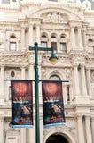 Signes de célébration pour le Jour de la Déclaration d'Indépendance Images libres de droits