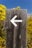Signes de flèche image libre de droits