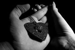 Signes de l'amour Images libres de droits