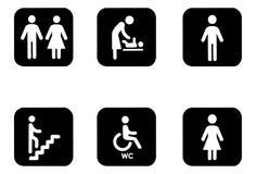 Signes de l'information Photographie stock libre de droits