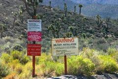 Signes de la zone 51 photos libres de droits