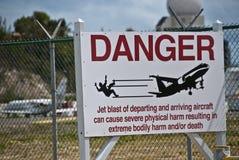 Signes de Maarten Aiport de saint, Antilles hollandaises Photos libres de droits