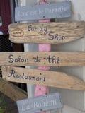 Signes de restaurant photographie stock